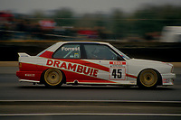 #45 Ian Forrest Drambuie Racing BMW M3  during Round 1of the 1991 British Touring Car Championship at Silverstone, Towcester, Northamptonshire, United Kingdom. 1st April 1991, World Copyright Peter Taylor/PSP. Copy of publication required for printed pictures.