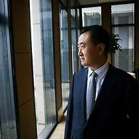 CHINA : Wang Jianlin ( Wanda group) /portraits