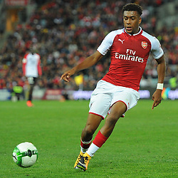 Alex Iwobi of Arsenal on the ball during Western Sydney Wanderers vs Arsenal, Preseason Friendly , 15.07.17 (c) Harriet Lander | SportPix.org.uk