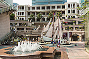 Former Marine Police Headquarters Compound renamed the 1881 Heritage in Tsim Sha Tsui Kowloon, Hong Kong.