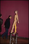 PETER SAVILE; , Allen Jones private view. Royal Academy,  London. 11 November  2014.