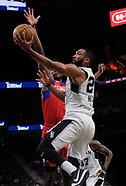 2017 - Aqua Caliente Clippers at Austin Spurs, ATT Center, San Antonio, TX, 24 Nov
