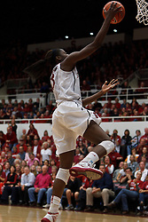 Dec 20, 2011; Stanford CA, USA;  Stanford Cardinal forward Chiney Ogwumike (13) shoots against the Tennessee Lady Volunteers during the second half at Maples Pavilion.  Stanford defeated Tennessee 97-80. Mandatory Credit: Jason O. Watson-US PRESSWIRE