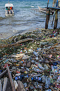 Beach trash<br /> Biak Island<br /> West Papua<br /> Indonesia