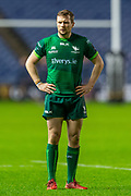 Jack Carty (#10) of Connacht Rugby during the Guinness Pro 14 2019_20 match between Edinburgh Rugby and Connacht Rugby at BT Murrayfield Stadium, Edinburgh, Scotland on 21 February 2020.