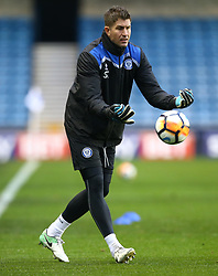 January 27, 2018 - London, United Kingdom - Rochdale's Goalkeeping coach Steve Collis.during FA Cup 4th Round match between Millwall against Rochdale  at The Den, London on 27 Jan 2018  (Credit Image: © Kieran Galvin/NurPhoto via ZUMA Press)