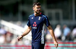 James Anderson of England - Mandatory by-line: Robbie Stephenson/JMP - 08/07/2017 - CRICKET - Lords - London, United Kingdom - England v South Africa - Investec Test Series