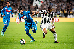 April 22, 2018 - Turin, Piedmont/Turin, Italy - D. Costa durig the Serie A match Juventus FC vs Napoli. Napoli won 0-1 at Allianz Stadium, in Turin, Italy 22nd april 2018 (Credit Image: © Alberto Gandolfo/Pacific Press via ZUMA Wire)