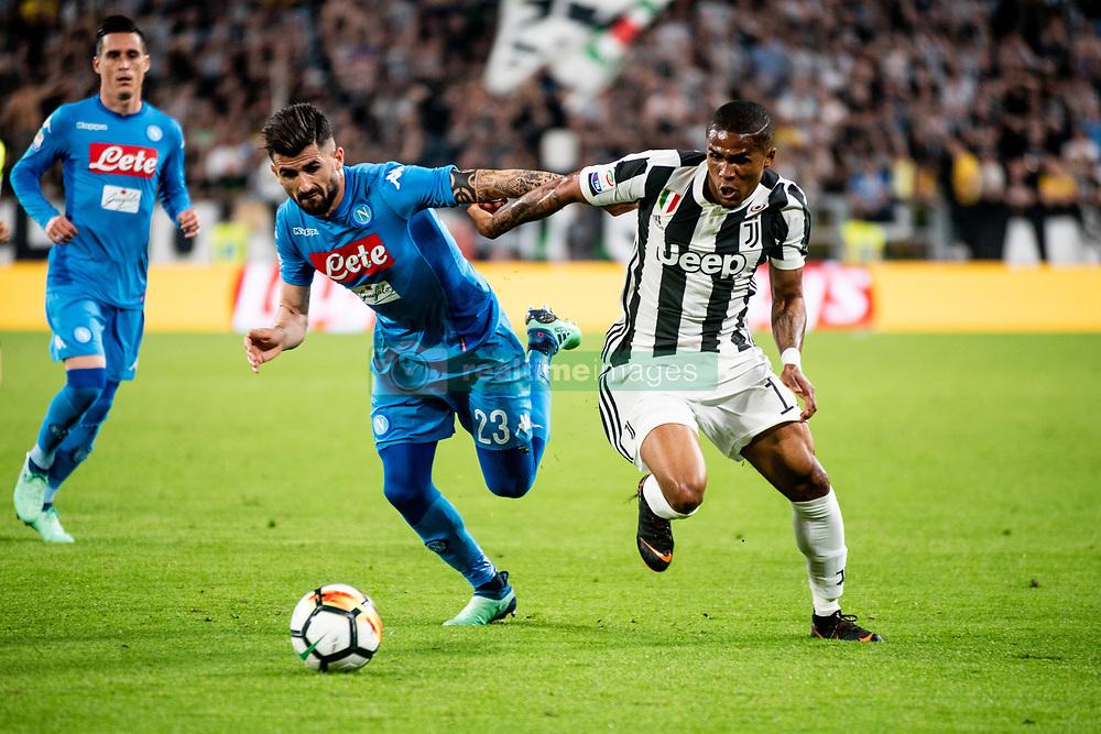 April 22, 2018 - Turin, Piedmont/Turin, Italy - D. Costa durig the Serie A match Juventus FC vs Napoli. Napoli won 0-1 at Allianz Stadium, in Turin, Italy 22nd april 2018 (Credit Image: © Alberto Gandolfo/Pacific Press via ZUMA Wire)