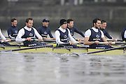 Putney, GREAT BRITAIN,    left Michal PLOTOWIAK, 4. David HOPPER, 5. Aaron MARCOVY during the 2008 Varsity/Oxford University [OUBC] Trial Eights, raced over the championship course. Putney to Mortlake, on the River Thames. Thurs. 11.08.2008 [Mandatory Credit, Peter Spurrier/Intersport-images] Varsity Boat Race, Rowing Course: River Thames, Championship course, Putney to Mortlake 4.25 Miles,