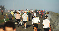 South Africa - Cape Town - 1 May 2020 - Sea Point residents took full advantage of new rules to exercise between 6am and 9am.Photographer: Armand Hough/African News Agency(ANA)