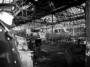 The burnt-out shell of the Stardust nightclub.<br />