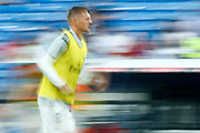 Real Madrid's German midfielder Toni Kroos warms up before the Spanish championship Liga football match between Real Madrid CF and Leganes on September 1, 2018 at Santiago Bernabeu stadium in Madrid, Spain - Photo Benjamin Cremel / ProSportsImages / DPPI
