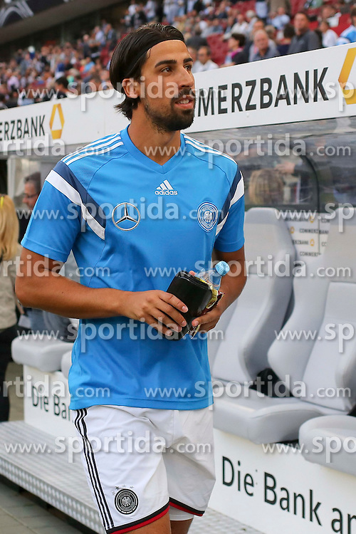10.06.2015, RheinEnergie Stadion, Koeln, GER, FS Vorbereitung, Testspiel, Deutschland vs USA, im Bild Sami Khedira (Real Madrid) // during the international friendly football match between Germany and USA at the RheinEnergie Stadion in Koeln, Germany on 2015/06/10. EXPA Pictures &copy; 2015, PhotoCredit: EXPA/ Eibner-Pressefoto/ Schueler - Pressefoto<br /> <br /> *****ATTENTION - OUT of GER*****