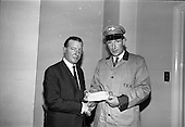 1966 - Cheque presentation at the Department of Agriculture for the National Dairy Publicity Council