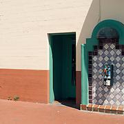 Spanish Colonial Revival Payphone, Santa Barbara, California, 2012