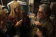 MEL MORRIS; MARISSA MONTGOMERY, ; JUSTIN DE VILLENEUVE,  , Book launch for 'I Should Have Said' by Daisy de Villeneuve, John Sandoe Books, Blacklands Terrace. Chelsea, London. 10 March 2015.