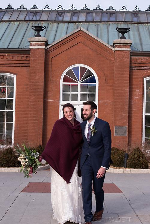 December 30, 2017- Diel-McCoy Wedding.  (Photo by Robert Falcetti)