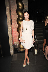 AMBER LE BON at The Love Ball hosted by Natalia Vodianova and Lucy Yeomans to raise funds for The Naked Heart Foundation held at The Round House, Chalk Farm, London on 23rd February 2010.