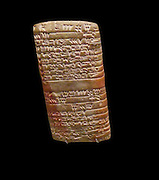 Administrative seal in the form of cuneiform clay tablets. From Mesopotamia 3100-2900 BC