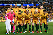 SYDNEY, NSW- NOVEMBER 15: Australian team photo at the Soccer World Cup Qualifier between Australia and Honduras on November 10, 2017. (Photo by Steven Markham/Icon Sportswire)
