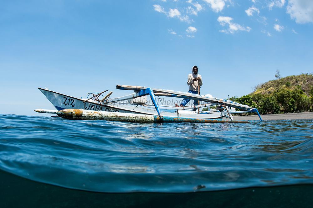 Fishing boat<br /> West Nusa Tenggara <br /> Lesser Sunda Islands<br /> Indonesia