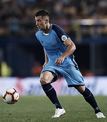 August 31, 2018 - Vila-Real, Castellon, Spain - Alex Granell Nogue of Girona FC with the ball during the La Liga match between Villarreal CF and Girona FC at Estadio de la Ceramica on August 31, 2018 in Vila-real, Spain  (Credit Image: © David Aliaga/NurPhoto/ZUMA Press)