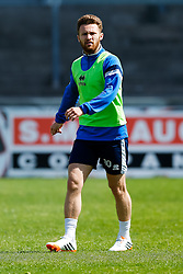 Matt Taylor takes part in Bristol Rovers training before Sundays Vanamara Conference Play Off Final match against Grimsby Town at Wembley Stadium for promotion to the Football League 2 - Photo mandatory by-line: Rogan Thomson/JMP - 07966 386802 - 12/05/2015 - SPORT - FOOTBALL - Bristol, England - Memorial Stadium - Bristol Rovers Play Off Final Previews - Vanarama Conference Premier.