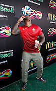 Tyson Beckford attends the 2014 FIFA World Cup McDonald's Launch Party to celebrate the unveiling of the transformed McDonald's fry box at Pillars 38 in New York City, New York on June 05, 2014.