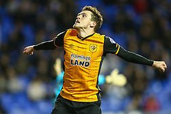 Goal, Andrew Robertson of Hull City scores. Reading 1-2 Hull City - Mandatory byline: Jason Brown/JMP - 07966 386802 - 19/04/2016 - FOOTBALL - Madejski Stadium - Reading, England - Reading v Hull City - Sky Bet Championship