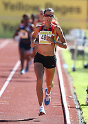 PORT ELIZABETH, SOUTH AFRICA, Friday 13 April 2012, Rene Kalmer in the women's 5000m during the Yellow Pages South African Senior and Combined Events Championships held at the Xerox Nelson Mandela Metropolitan University, Nelson Mandela Bay..Photo by Roger Sedres/Image SA/ASA