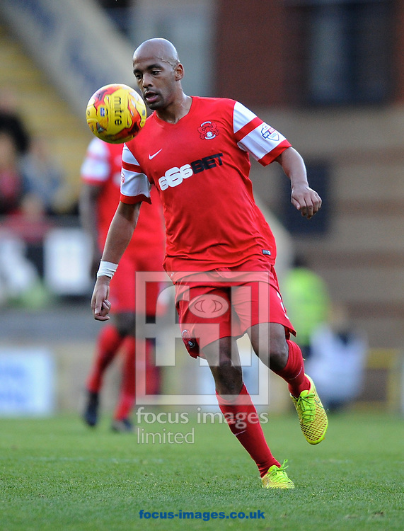 Elliott Omozusi of Leyton Orient  during the Sky Bet League 1 match at the Matchroom Stadium, London<br /> Picture by Alan Stanford/Focus Images Ltd +44 7915 056117<br /> 01/11/2014