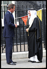 King of Bahrain in Downing Street 23-8-12