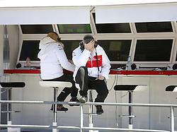 March 6, 2018 - Barcelona, Spain - Testvecka 2, Formel 1, Barcelona ..Marcus och Sauber hade problem under dagen (Credit Image: © JerrevÃ…Ng Stefan/Aftonbladet/IBL via ZUMA Wire)