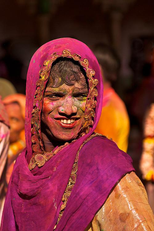 A kothi as Radha at Nandgaon