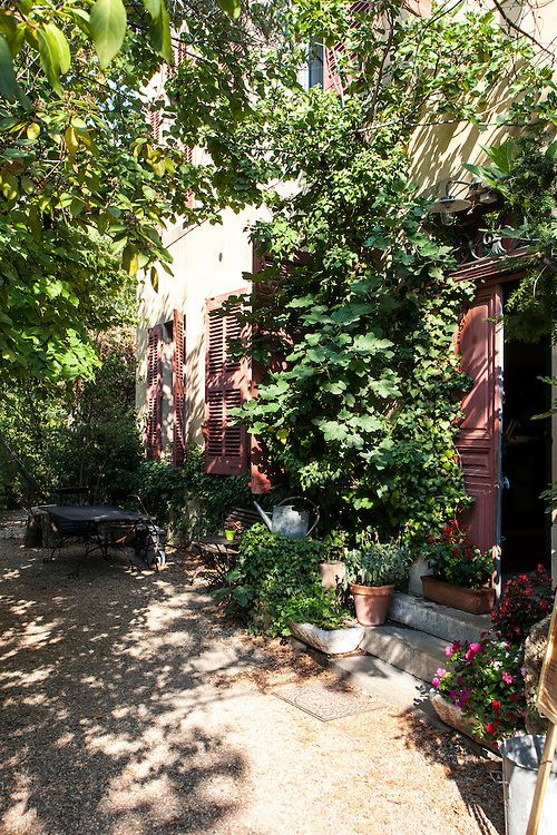 Garden of Paul Cezanne's atelier, in Aix-en-Provence, France