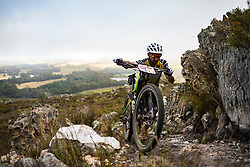 Manuel Fumic of Cannonade Factory Racing during stage 1 of the 2017 Absa Cape Epic Mountain Bike stage race held from Hermanus High School in Hermanus, South Africa on the 20th March 2017<br /> <br /> Photo by Nick Muzik/Cape Epic/SPORTZPICS<br /> <br /> PLEASE ENSURE THE APPROPRIATE CREDIT IS GIVEN TO THE PHOTOGRAPHER AND SPORTZPICS ALONG WITH THE ABSA CAPE EPIC<br /> <br /> ace2016