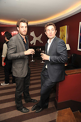 A party to promote the exclusive Puntacana Resort & Club - the Caribbean's Premier Golf & Beach Resort Destination, was held at The Groucho Club, 45 Dean Street London on 12th May 2010.<br /> <br /> Picture shows:-Left to right, CHRIS LEES and DAN RIDGERS