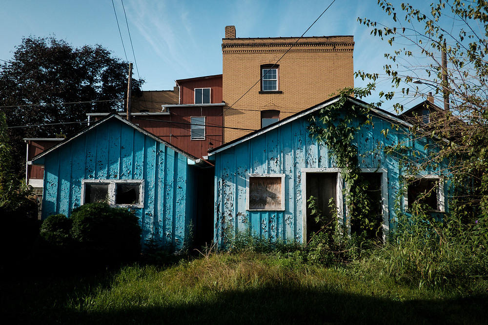 Natrona, Pa., a traditional blue collar town in western Pennsylvania, is bordered by the ATI Brackenridge Plant. About eight blocks away, on the other side of town, stands the former Allegheny Ludlum Natrona melt shop which was shut down in 2010.<br /> <br /> Originally known as East Tarentum, Natrona was built as a company town by the Pennsylvania Salt Manufacturing Company in the 1850s.