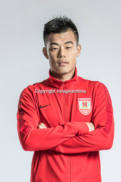 **EXCLUSIVE**Portrait of Chinese soccer player Tan Long of Changchun Yatai F.C. for the 2018 Chinese Football Association Super League, in Wuhan city, central China's Hubei province, 22 February 2018.