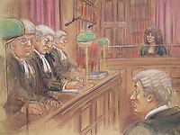 Sarah Thornton, Appeal Court, 1995<br /> Sara Thornton walked free from court yesterday after a jury found her not guilty of murdering her alcoholic husband, but convicted her of manslaughter.
