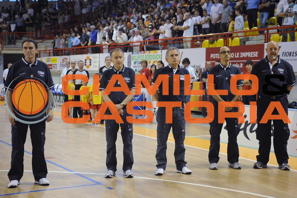 DESCRIZIONE : Nassano del Grappa Trofeo Saiv telecomunicazioni Amichevole Italia Repubblica Ceka<br /> GIOCATORE : Team Italia<br /> SQUADRA : Nazionale Italia Uomini<br /> EVENTO : Torneo Internazionale<br /> GARA : Italia Repubblica Ceka<br /> DATA : 04/06/2008<br /> CATEGORIA :  Team<br /> SPORT : Pallacanestro<br /> AUTORE : Agenzia Ciamillo-Castoria/M.Gregolin