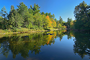 Dryberry Creek reflection<br /> Near Sioux Narrows<br /> Ontario<br /> Canada