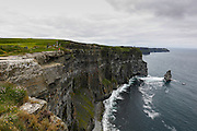 O'Brien's Tower is seen at The Cliffs of Moher in County Clare, Ireland on Friday June 21st 2013. (Photo by Brian Garfinkel)