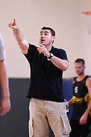 Basketball 2. Bundesliga 2019/2019  Testspiel  24.08.2019 Tigers Tuebingen - Kirchheim Knights Trainer Mauricio Parra (Kirchheim Knights)