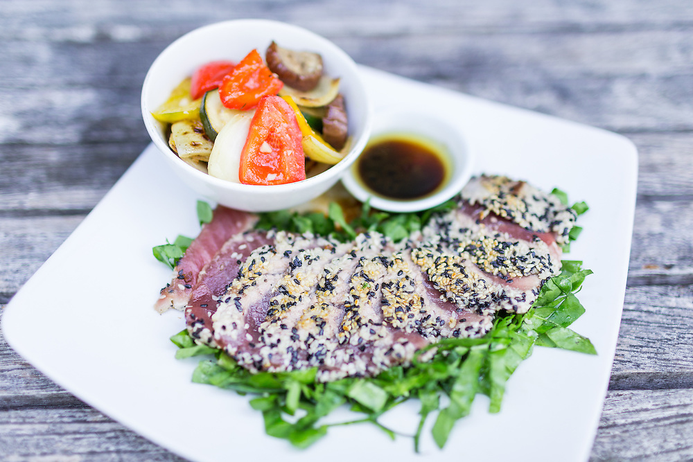 Sesame Crusted Tuna.