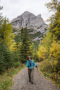 Mt Kidd, Galatea Creek Trail, Spray Valley Provincial Park, Kananaskis Country, Canadian Rockies, Alberta.