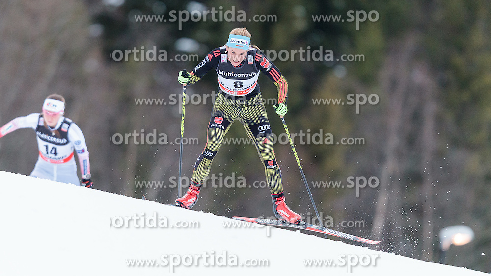 05.12.2015, Nordic Arena, NOR, FIS Weltcup Langlauf, Lillehammer, Damen, im Bild Nicole Fessel (GER) // Nicole Fessel of Germany during Ladies Cross Country Competition of FIS Cross Country World Cup at the Nordic Arena, Lillehammer, Norway on 2015/12/05. EXPA Pictures © 2015, PhotoCredit: EXPA/ JFK