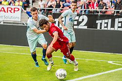 16-08-2017 NED: Europa League FC Utrecht - Zenit St. Petersburg, Utrecht<br /> Yassin Ayoub #8 of FC Utrecht. Dmitriy Poloz #7 of Zenit