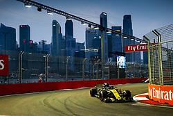 September 15, 2018 - Singapore, Singapore - Motorsports: FIA Formula One World Championship 2018, Grand Prix of Singapore, .#27 Nico Hulkenberg (GER, Renault Sport Formula One Team) (Credit Image: © Hoch Zwei via ZUMA Wire)